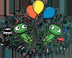 Grilli per la festa - Babyparking, compleanni ed eventi